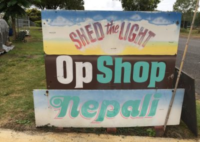 Shed of Light Op Shop