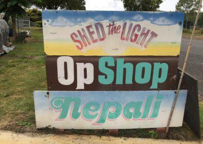 Shed of Light Op Shop